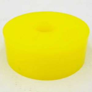 Bump Rubber 2in x .75in Yellow