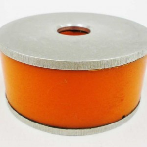 Bump Rubber w Bonded Washer Orange