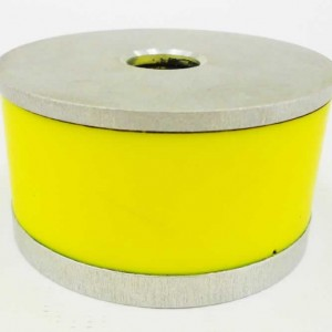 Bump Rubber w Bonded Washer Yellow