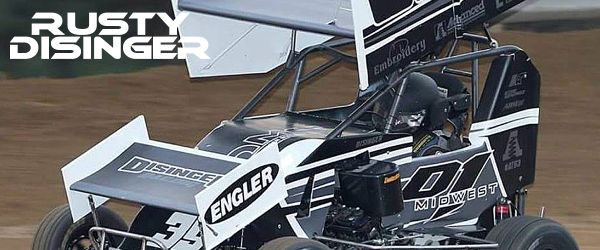 Rusty Disinger picks up 2 Wins two weekends in a row at US24 Speedway on ARS![…]